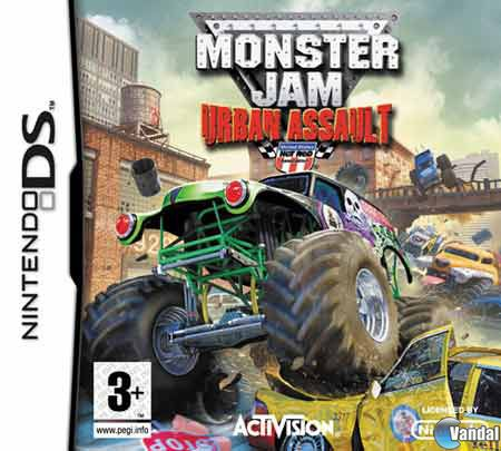 Carátula de Monster Jam: Urban Assault para Nintendo DS