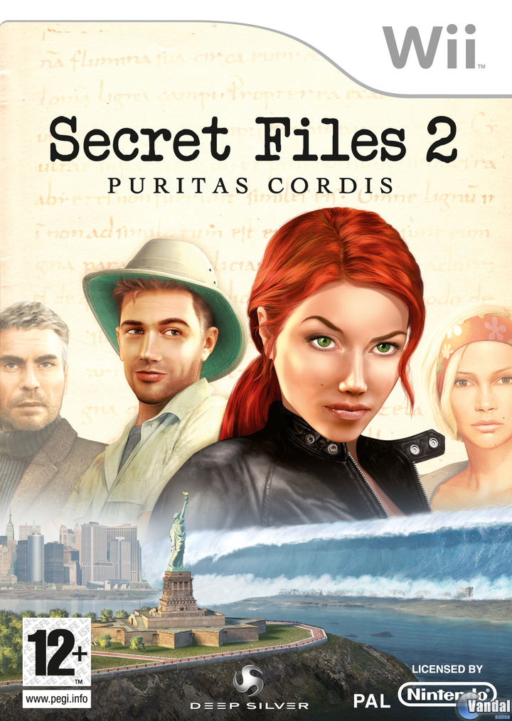 Car�tula Secret Files 2: Puritas Cordis Wii