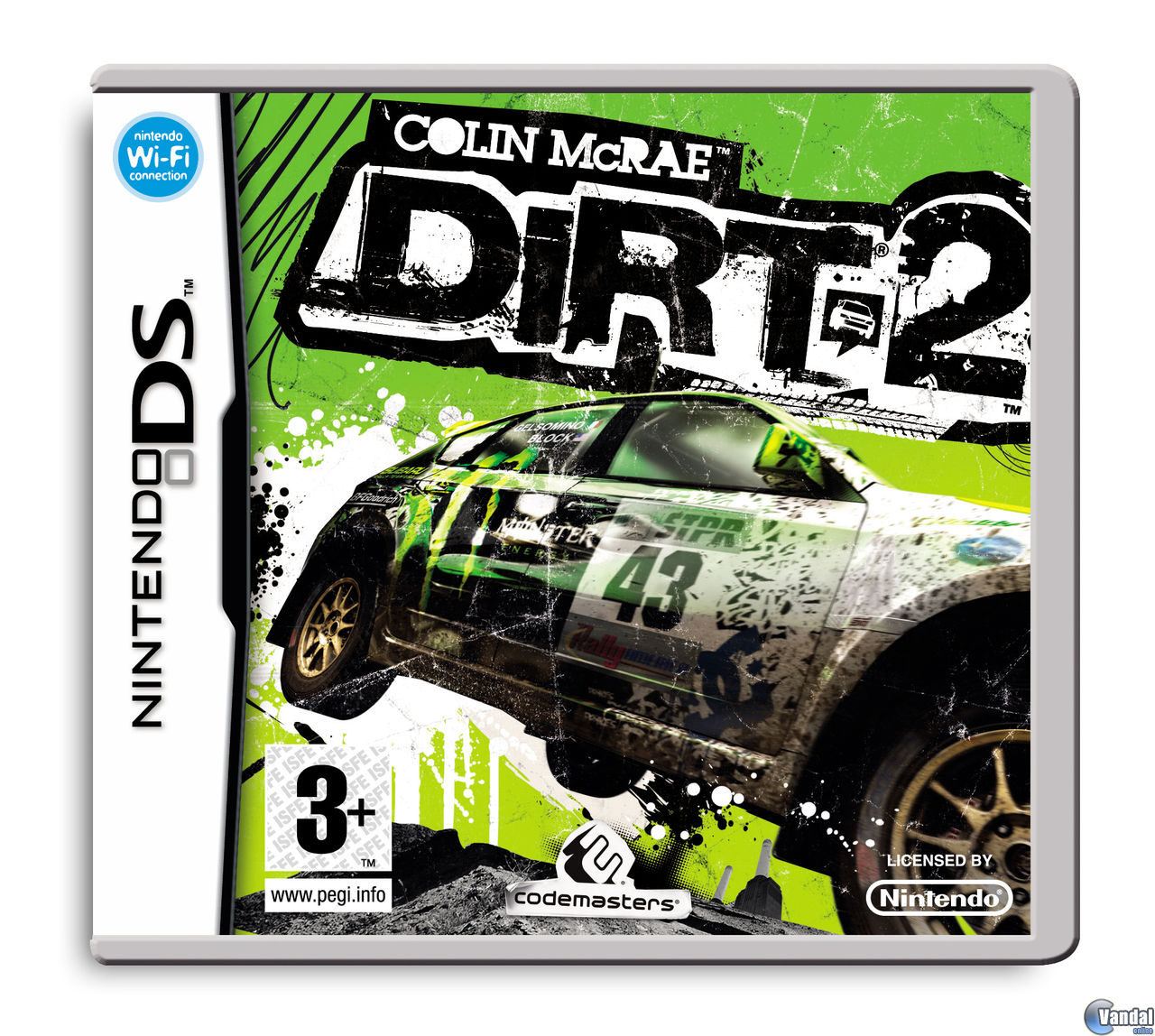 Car�tula Colin McRae: DIRT 2 Nintendo DS