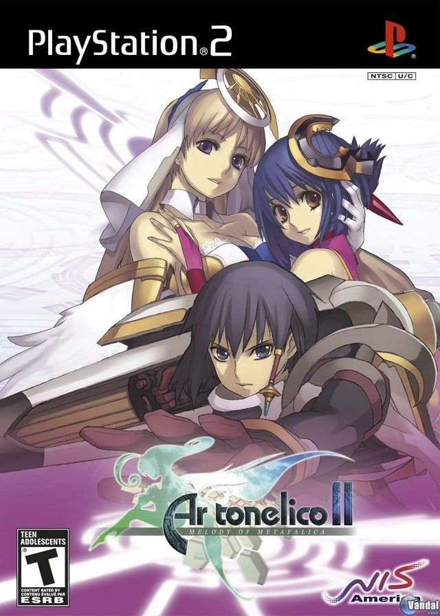 Car�tula Ar tonelico II: Melody of Metafalica  PlayStation 2