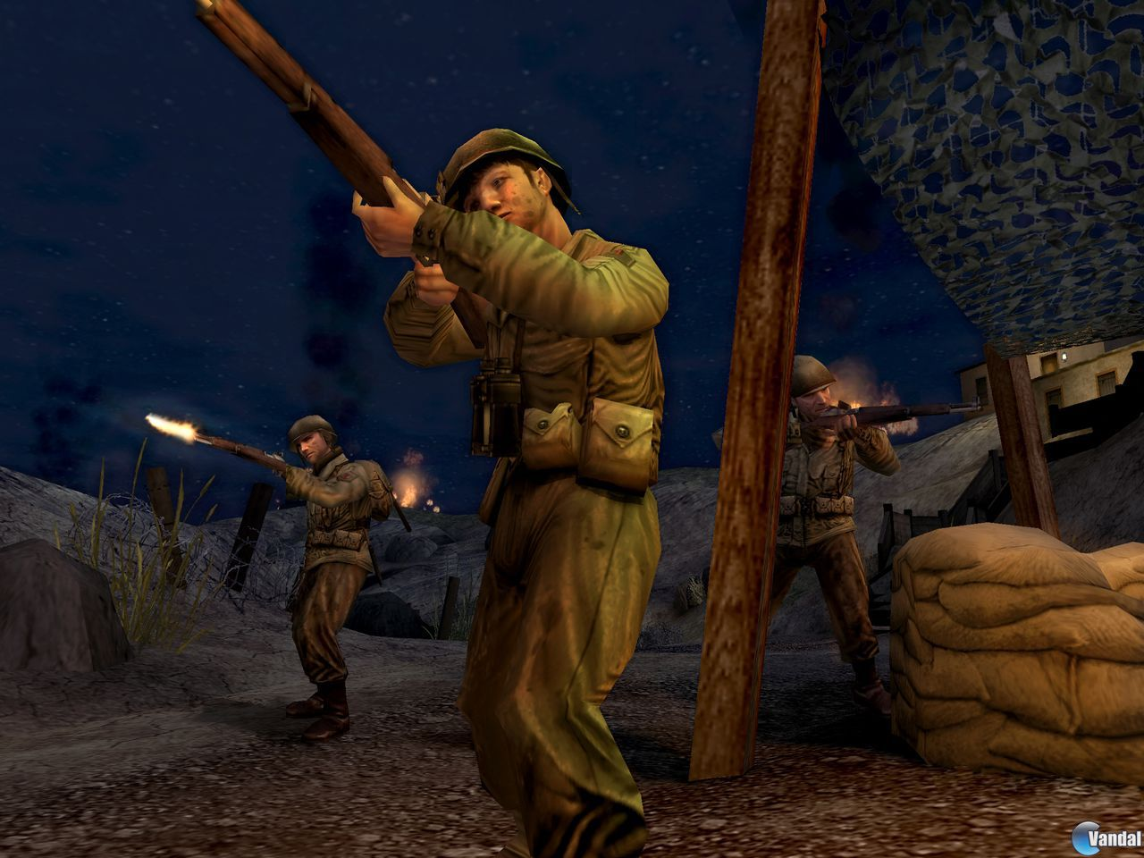 Imagen 4 de Call of Duty 2: Big Red One para PlayStation 2