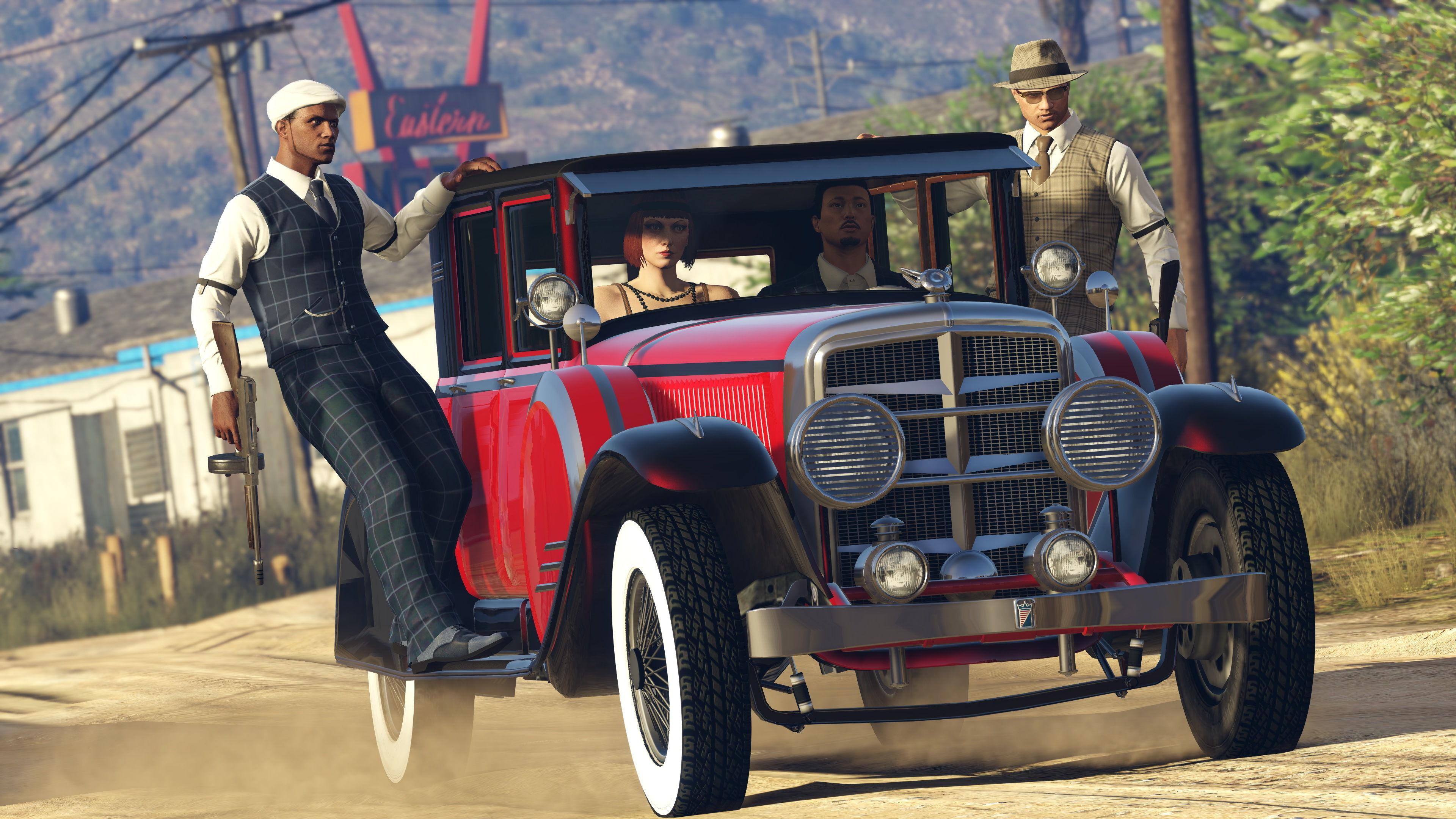 Grand Theft Auto: All Games: В GTA Online вышло обновление ко Дню святого Валентина