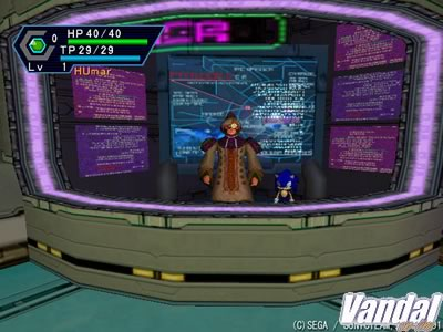 Im�genes Phantasy Star Online Version 2