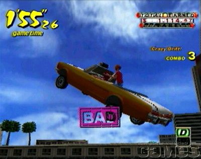 Screens Zimmer 1 angezeig: crazy taxi ps2