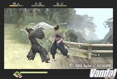 Imagen 13 de Way of the Samurai para PlayStation 2