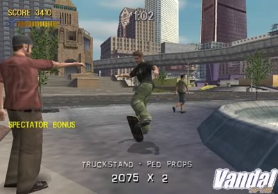 Tony Hawk Pro Skater 3 PS2  Identi