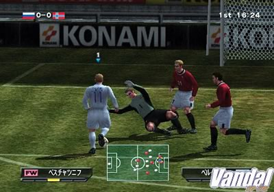 Imagen 4 de Winning Eleven 6 Final Evolution para PlayStation 2