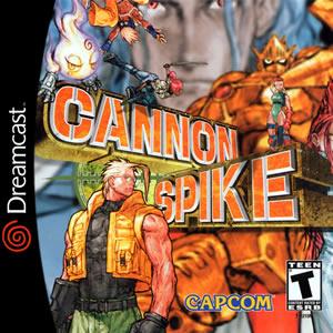 Portada oficial de Cannon Spike para Dreamcast