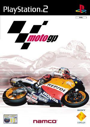 Portada oficial de Moto GP para PS2
