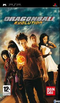 Portada oficial de Dragon Ball Evolution para PSP