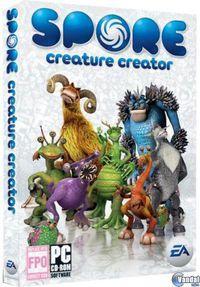 Portada oficial de Spore: Creature Keeper para PC