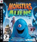 Portada oficial de Monsters vs. Aliens para PS3