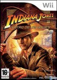 Portada oficial de Indiana Jones and the Staff of Kings para Wii