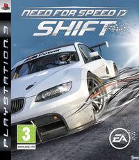 Portada oficial de Need for Speed Shift para PS3