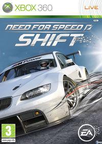 Portada oficial de Need for Speed Shift para Xbox 360