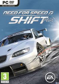 Portada oficial de Need for Speed Shift para PC