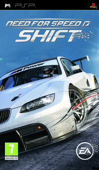 Portada oficial de Need for Speed Shift para PSP