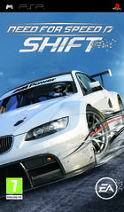 Portada oficial de Need for Speed Shift para PSP