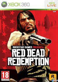 Portada oficial de Red Dead Redemption para Xbox 360