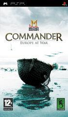 Portada oficial de MILITARY HISTORY Commander: Europe at War para PSP