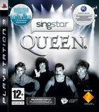 Portada oficial de SingStar Queen para PS3