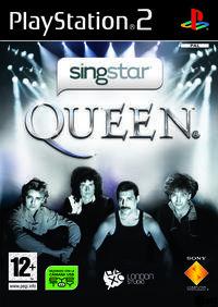 Portada oficial de SingStar Queen para PS2