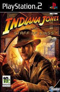 Portada oficial de Indiana Jones and the Staff of Kings para PS2