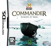 Portada oficial de MILITARY HISTORY Commander: Europe at War para NDS