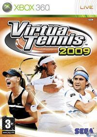 Portada oficial de Virtua Tennis 2009 para Xbox 360