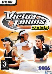 Portada oficial de Virtua Tennis 2009 para PC