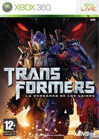 Portada oficial de Transformers: La Venganza de los Caídos – El Videojuego para Xbox 360
