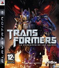 Portada oficial de Transformers: La Venganza de los Caídos – El Videojuego para PS3