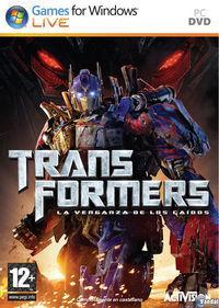Portada oficial de Transformers: La Venganza de los Caídos – El Videojuego para PC