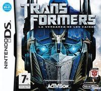 Portada oficial de Transformers: La Venganza de los Caídos – El Videojuego para NDS