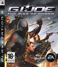 Portada oficial de G.I. JOE The Rise of Cobra para PS3