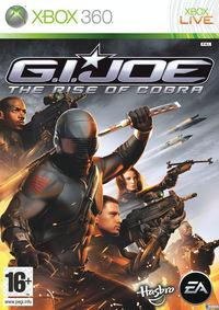 Portada oficial de G.I. JOE The Rise of Cobra para Xbox 360