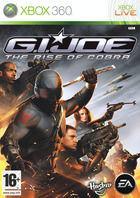 Portada oficial de G.I. JOE The Rise of Cobra para Xbox 360