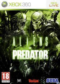 Portada oficial de Aliens vs. Predator para Xbox 360