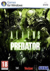 Portada oficial de Aliens vs. Predator para PC