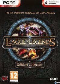 Portada oficial de League of Legends para PC