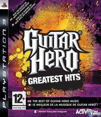 Portada oficial de Guitar Hero: Greatest Hits para PS3