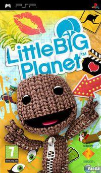 Portada oficial de LittleBigPlanet para PSP