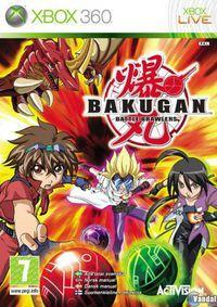 Portada oficial de Bakugan para Xbox 360