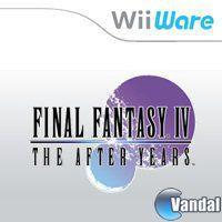 Portada oficial de Final Fantasy IV: The After Years WiiW para Wii