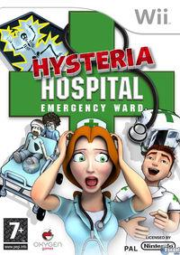 Portada oficial de Hysteria Hospital: Emergency Ward para Wii