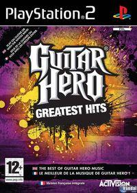 Portada oficial de Guitar Hero: Greatest Hits para PS2