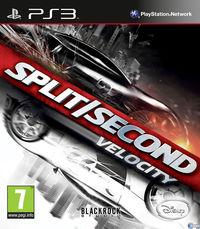 Portada oficial de Split/Second: Velocity para PS3