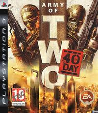 Portada oficial de Army of Two: The 40th Day para PS3