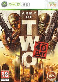 Portada oficial de Army of Two: The 40th Day para Xbox 360