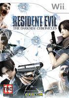 Portada oficial de Resident Evil: The Darkside Chronicles para Wii